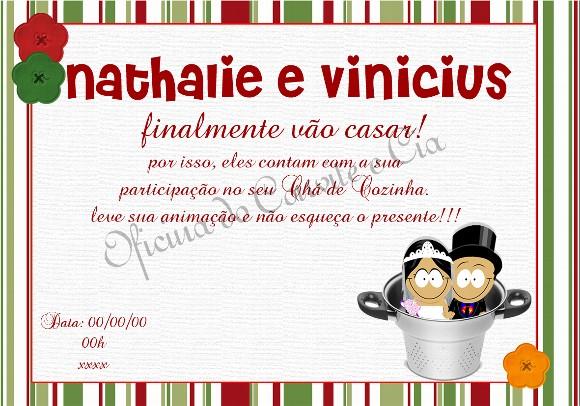 Convite Para Chá De Panela Botucatu Guia Botucatu Guia Oficial